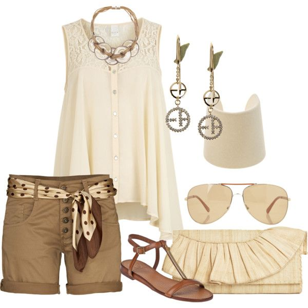 A fashion look from January 2013 featuring see through tops, short shorts and ankle strap sandals. Browse and shop related looks.