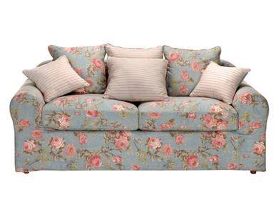 Sofa floral da Tok Stok, Charmoso!
