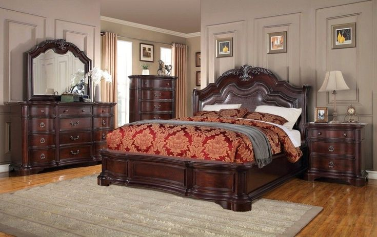 King Size Bedroom Furniture Sets Sale #KingSizeBedroomSets