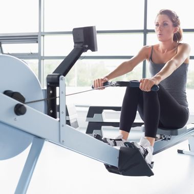 I'm going to have to start using the indoor rowing machine at my gym! They say it's one of the best FULL BODY workouts. Burn more calories than you would on the elliptical.