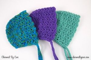 Sweet Like Candy Bonnet Pattern | Charmed By Ewe