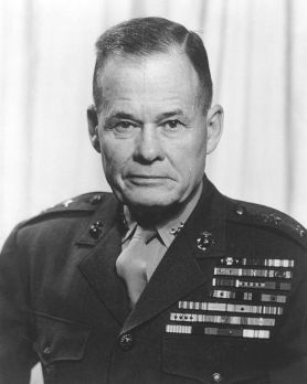 "Described as the baddest Marine that ever lived... General Lewis B. ""Chesty"" Puller, having earned 5 Navy Crosses during his lifetime, he had a ""never give up, kick the enemy in the ass"" attitude... He is the other mascot of the Marines... OOH RAH!!!"