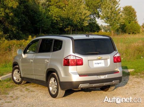 Review 2012 Chevrolet Orlando | Chevy Dealer Ontario