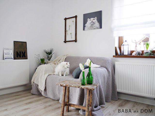 Baba Ma Dom: Mały kącik wypoczynkowy w salonie