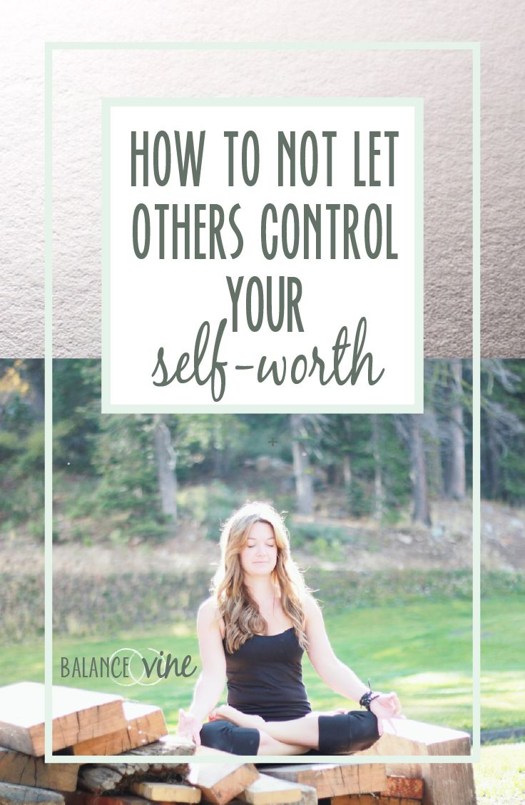 We so often allow others to dictate how we feel about our self-worth. Here is a blog post about how you can overcome your self-doubt and not let others control how you feel about yourself and your self-worth.