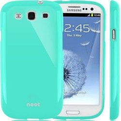 Jelly TPU Case for Galaxy S3/SIII - Turquoise | www.nootworld.com