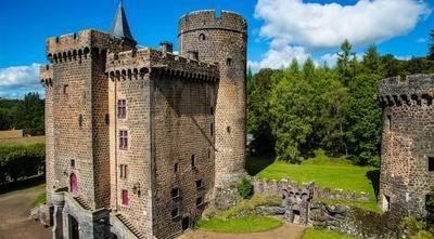 Château Dauphin. Pontgibaud. Auvergne
