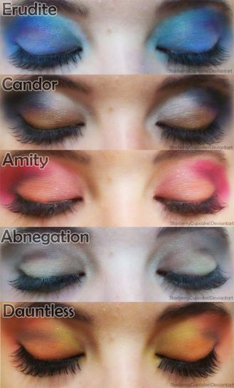Divergent Faction | Divergent Faction Themed Eye Make-Up! | Divergent Fandom