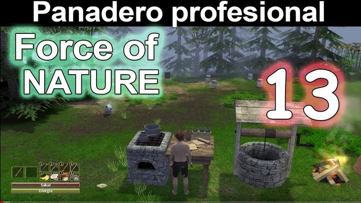 Como ser panadero profesional en mi casa| Force of Nature #13  | Gamepla...