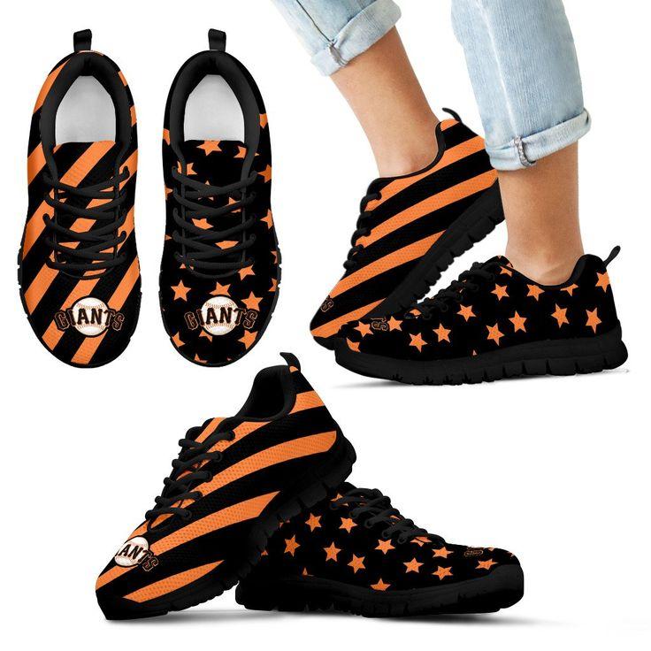 Splendid Star Mix Edge Fabulous San Francisco Giants Sneakers – Best Funny Store