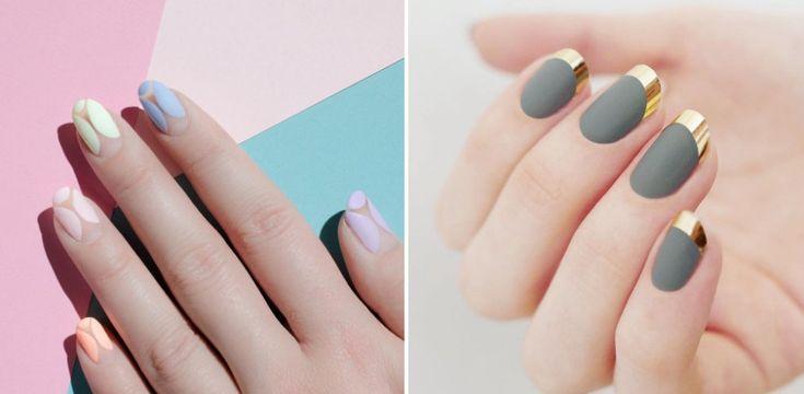 10 pomysłów na matowe paznokcie. COOL!