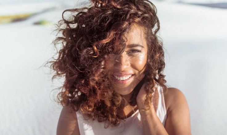 This DIY Protein Hair Mask Will Add Volume + Shine To Parched Summer Strands Hero Image