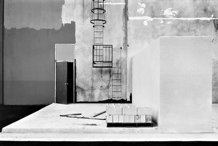 Lewis Baltz. construction detail, east wall, xerox, 1821 dyer road, santa ana, near irvine, california 1970s