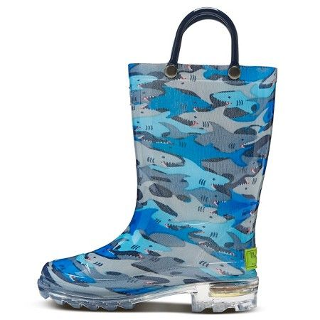 Toddler Boy's Western Chief Rain Boots - Blue S : Target