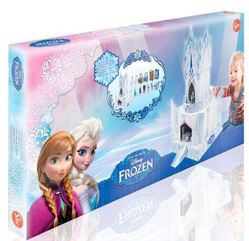 Maqueta de cartón Palacio del Hielo Frozen: El Reino del Hielo Diviértete con esta maqueta del palacio de la película de animación Frozen: El Reino del Hielo.