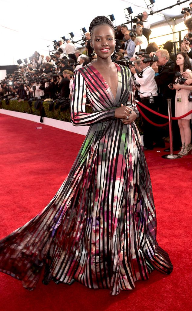 Lupita Nyong'o is once again a red carpet winner in Elie Saab!