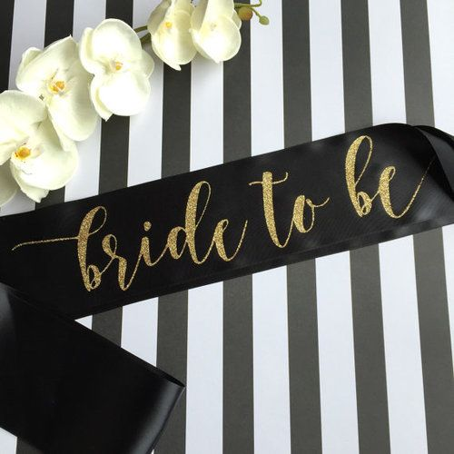 Bride To Be Party Sash (II)
