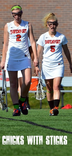 Chicks with Sticks #womenslax