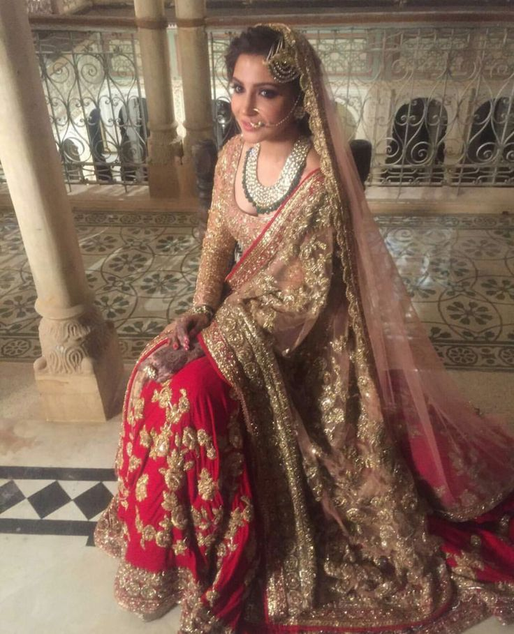 Anushka Sharma wearing Manish Malhotra Bridal in her movie Ae Dil Hai Mushkil