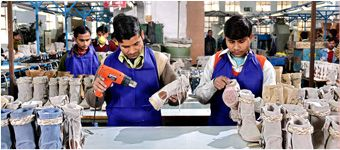 Lakhani Footwear has setup state-of-the-art plants in Faridabad, Bhiwadi, Haridwar and Noida where the company manufactures Sports Shoes, Leather Shoes, Canvas Shoes and EVA Slippers.