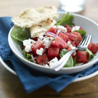 88 best healthy recipes with nutrition facts images on pinterest mediterranean watermelon salad recipe forumfinder Gallery