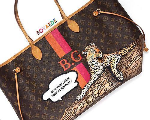 Leopard Louis Vuitton Bay Garnett 6