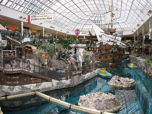 Edmonton, Alberta west Ed mall...ohhh the memories!!!! Kant wait tell june!!:) geta have good times with my friends n unit sisters!!!