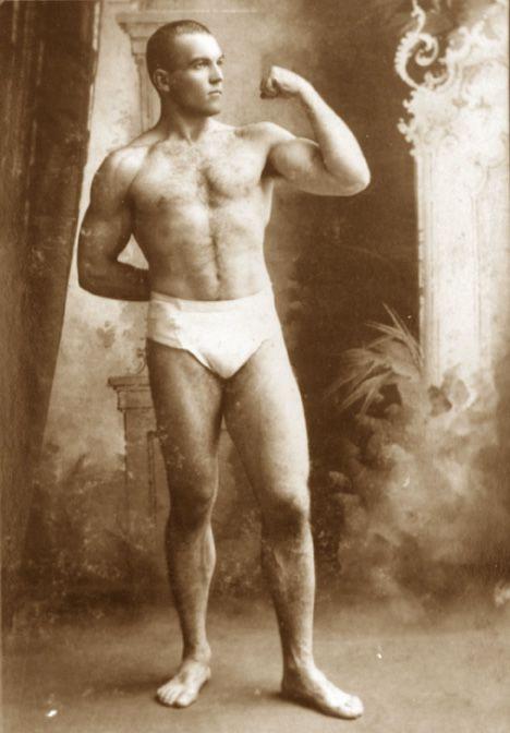 Boxer James Jackson Jeffries Vintage Men Vintage