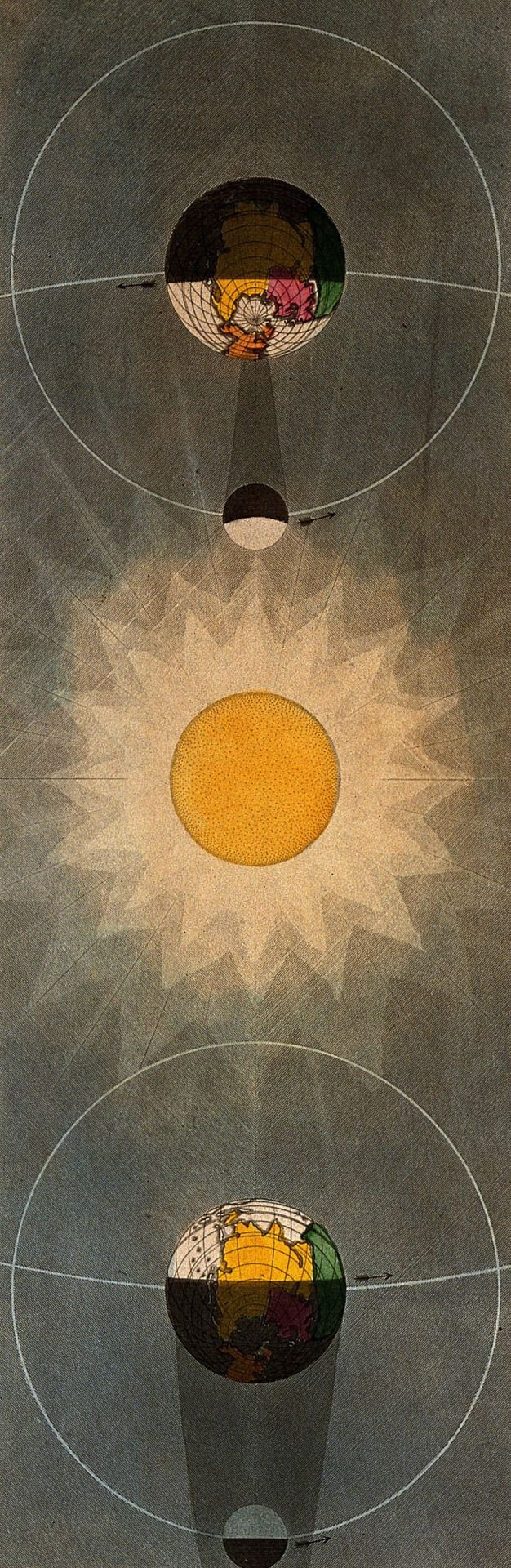 John Emslie. Eclipse of the Sun, Eclipse of the Moon. 1846.