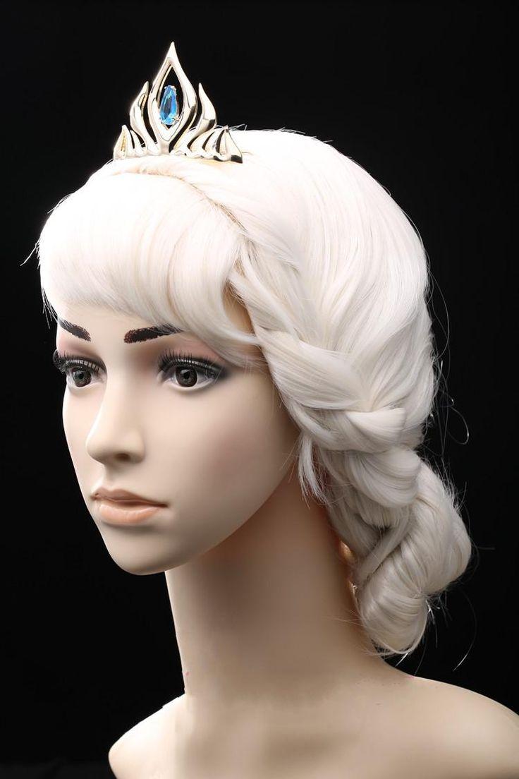 congelato elsa regina corona cosplay corona reale economici sposa accessori ragazze gold accessori pettine economici diademi nuziali le donne / ragazzeall'ingrosso