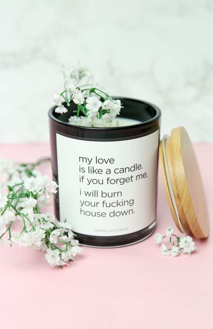Love it! Lol Damselfly - Delilah Candle - My Love Is Like A Candle