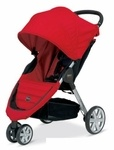 The B%2DAgile stroller from Britax is a lightweight, compact stroller featuring a one%2Dhand quick fold design with an automatic chassis lock. Designed to be an on%2Dthe%2Dgo travel system using the Britax click and go system, the B%2DAgile stroller accepts the Britax Chaperone and B%2DSafe Infant Car Seats without having to purchase additional adapters. The B%2DAgile is also compatible with other major manufacturer's infant car seats when used with the Britax infant car