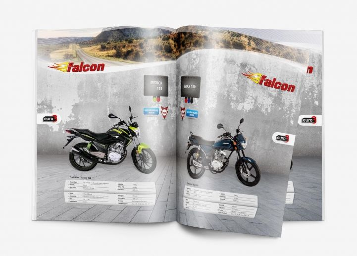 Konya Reklam Ajansı Masske - Falcon Motosiklet 2017