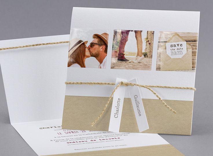 Faire-part de mariage M19-013