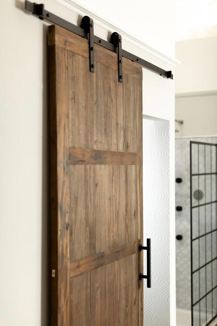 Single Sliding Barn Door With Images Interior Barn Doors Barn Door Barn Door Hardware