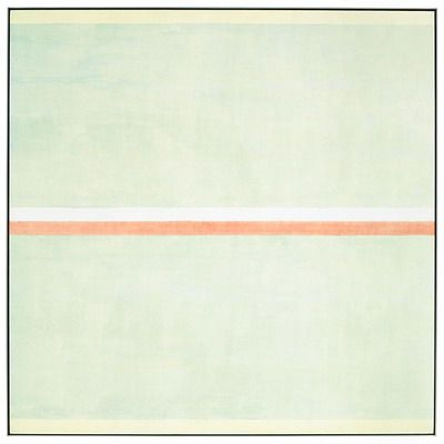 "inspiration-journey:    Agnes Martin  Gratitude, 2001  60"" x 60"",  acrylic & graphite on canvas"