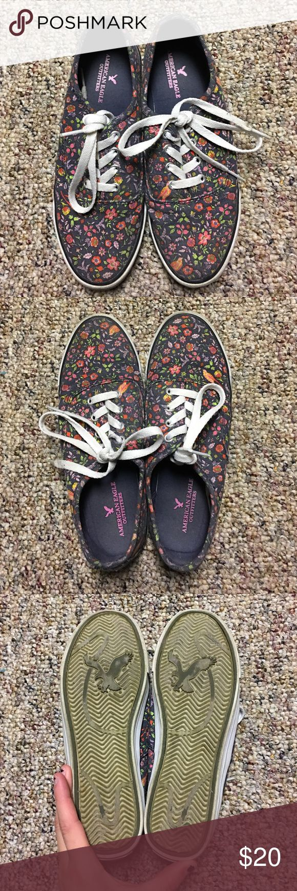 American Eagle Shoes American eagle shoes--similar to Vans, good condition! Accepting offers! American Eagle Outfitters Shoes Sneakers