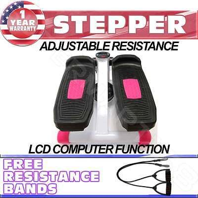 Stair Machines and Steppers 28062: Portable Exercise Stepper Machine Fitness Calories Burning Jogging Sport Pink -> BUY IT NOW ONLY: $38.95 on eBay!