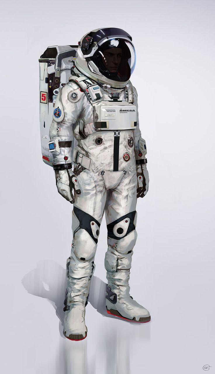 "Spacesuit Final, Jose Afonso ""eSkwaad"" on ArtStation at https://www.artstation.com/artwork/spacesuit-final"