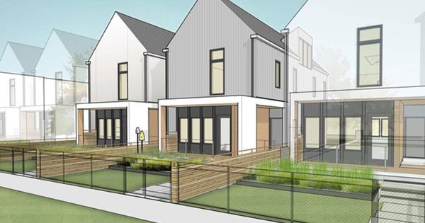 How To Solve The Affordable Housing Shortage Winner Of Design Competition Offers A Solution Affordable Housing Townhouse Designs House