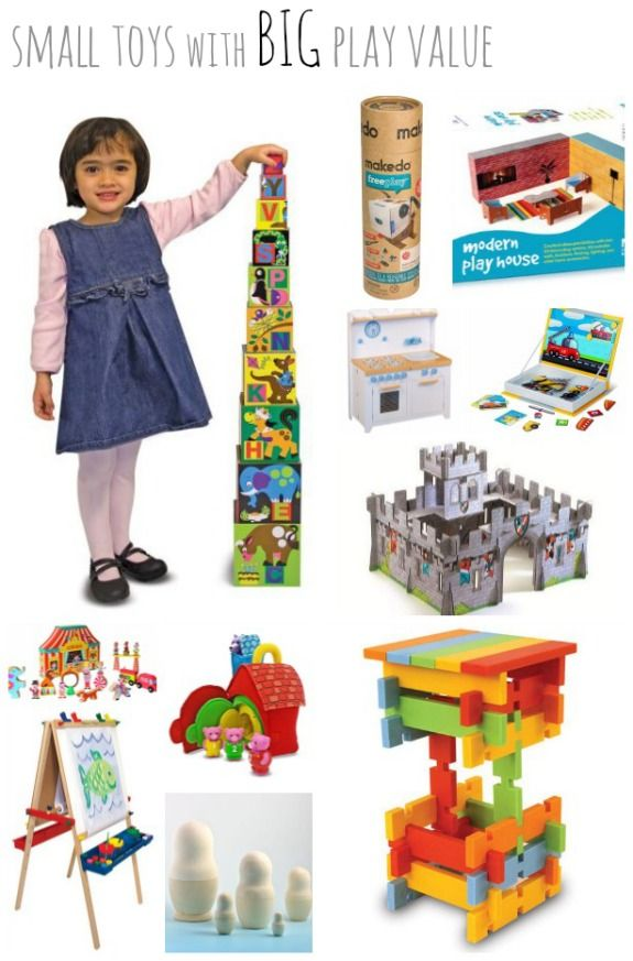Small Toys Big Play Value  - Pinned by @PediaStaff – Please Visit ht.ly/63sNtfor all our pediatric therapy pins