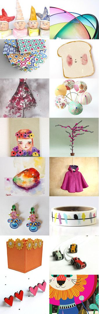 Color Me Happy! by MScott on Etsy--Pinned with TreasuryPin.com