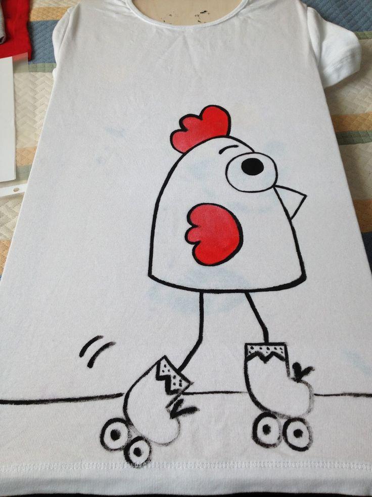 Plantillas para pintar camisetas con rotuladores buscar - Plantillas para pintar camisetas ...