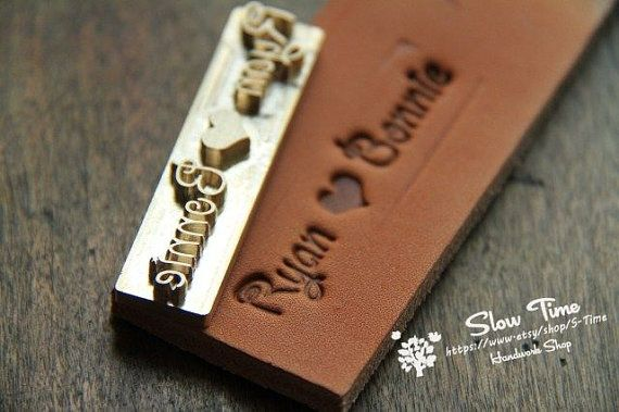 Express électrique fer à marquer pour cuir & bois avec cuir timbres/Custom Leather timbre avec l