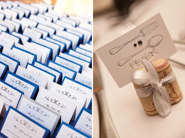Wedding Reception Ideas Table Numbers And Place Cards