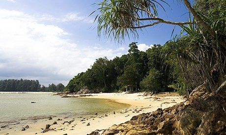 The beach at Cherating. Photograph: John Seaton Callahan/Getty Images/Flickr Open