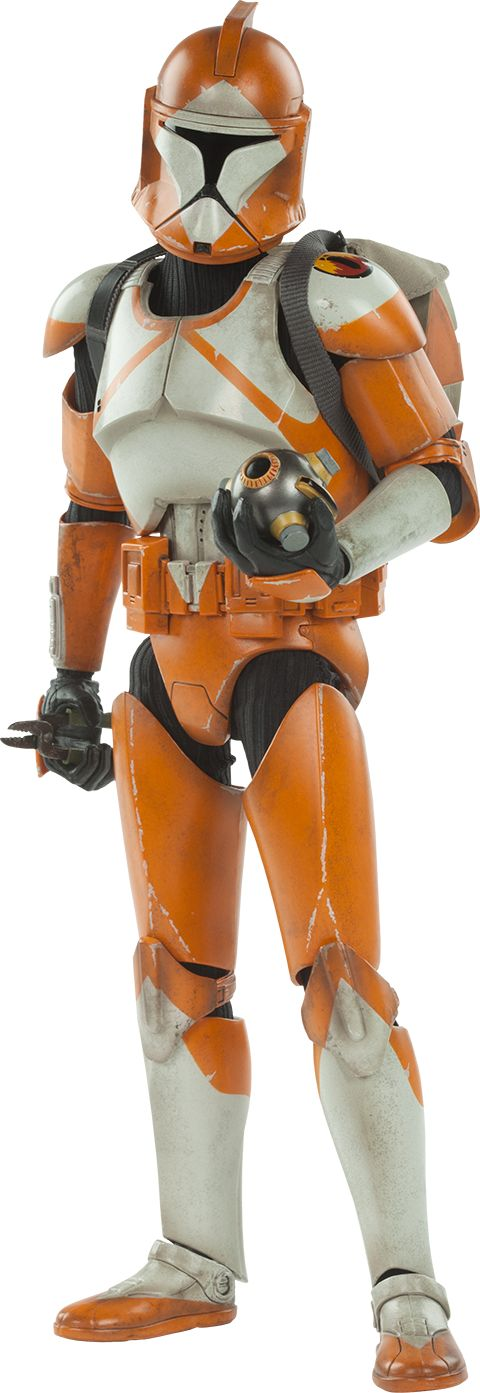 Bomb Squad Clone Trooper: Ordnance Specialist Clone Troopers Sixth Scale Figure by Sideshow Collectibles Militaries of Star War