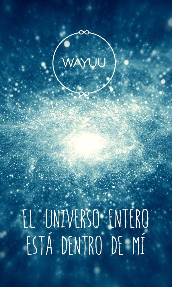 Al conectarte con el universo tu energía empieza a fluir.