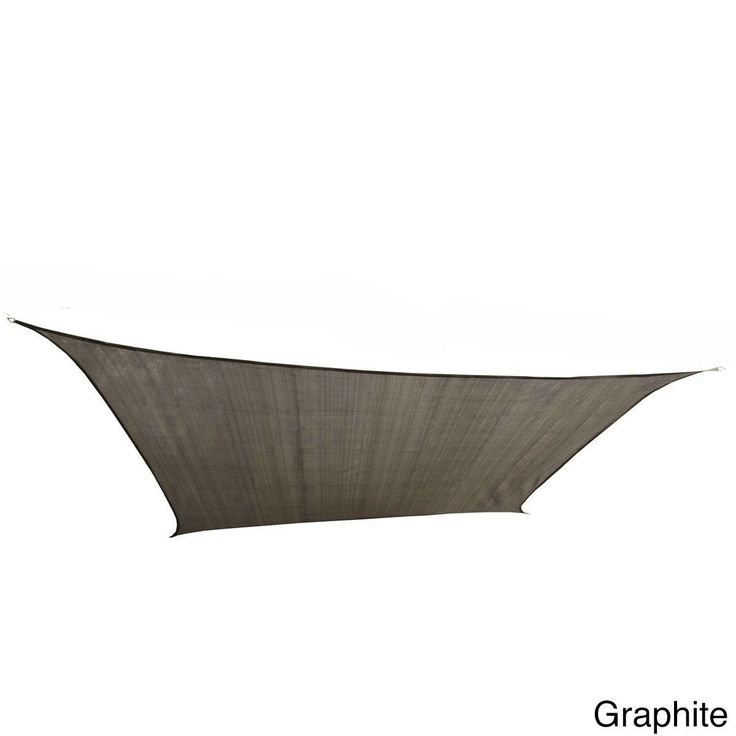 Cool Area Square Oversized 16 Feet, 5 Inches Sun Shade Sail with Stainless Steel Hardware Kit (16 Feet 5 Inches,