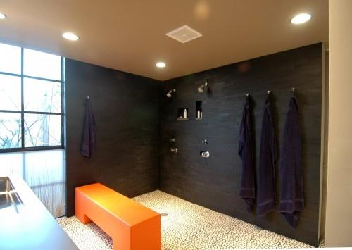 All The Right Elements Floor Tile Wall Tile Hooks Alcove Shower Pinterest Shower